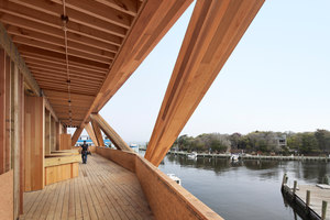 Fire Island Pines Pavilion | Church architecture / community centres | HOLLWICH KUSHNER LLC (HWKN)