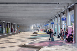 Stuttgart Airport Bus Terminal with Parking Garage | Infrastrukturbauten | wulf architekten