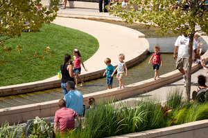 The Circle, Uptown Normal | Parcs | Hoerr Schaudt Landscape Architects