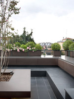 Private terrace (Milan) | Manufacturer references | De Castelli