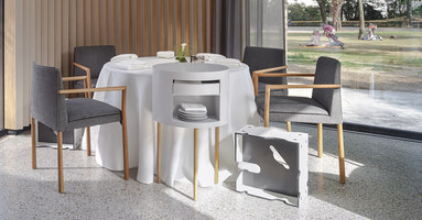 Star-rated restaurant Steirereck, Vienna | Manufacturer references | Thonet