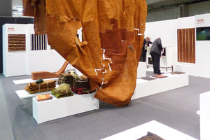 Special Exhibition Bark Cloth | IMM 2014 Cologne | Trade fair stands | Harry Hersche
