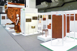 Special Exhibition Bark Cloth | IMM 2014 Cologne | Stand fieristici | Harry Hersche
