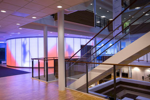 ISS University, Copenhagen | Manufacturer references | Luminous Surfaces (Color Kinetics)
