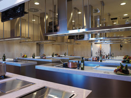 Arclinea Design Cooking School for Boscolo Etoile Academy | Manufacturer references | Arclinea