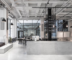 Usine | Bar - Interni | Design by Richard Lindvall