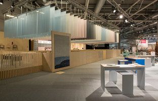Design Bar at Stockholm Furniture & Light Fair, February 3–7, 2015 | Estructuras temporales | Studio Vision Architecture & Design / Mattias Stenberg