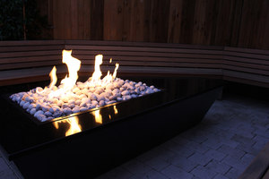 Gas fire table | Manufacturer references | Rivelin
