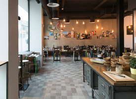 Restaurant Peppe's | Manufacturer references | Mosa