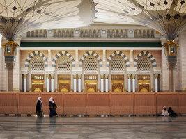 250 sun shades for pilgrims in Medina | Referencias de fabricantes | Sefar