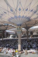 250 sun shades for pilgrims in Medina | Manufacturer references | Sefar