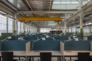 Halle 87 (Library) | Office facilities | Implenia