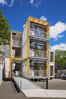 Urban Post Disaster Housing Prototype | Apartment blocks | Garrison Architects