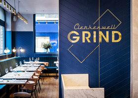 Clerkenwell Grind | Restaurant interiors | Biasol