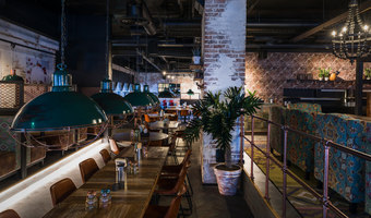 Amarillo Kuopio | Diseño de restaurantes | Visionary Design Partners Helsinki