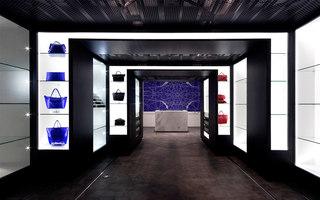 Telescopic Displays | Intérieurs de magasin | Architectkidd