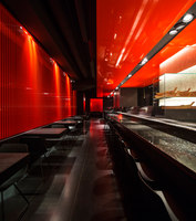Zen Sushi Restaurant | Restaurant interiors | Carlo Berarducci Architecture