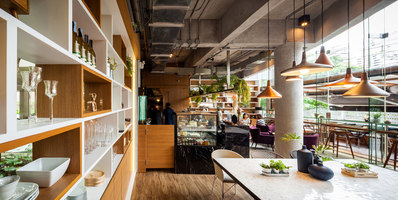 Storyline Cafe | Café interiors | JUNSEKINO Architect + Design