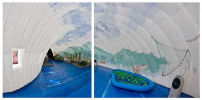 Guachimontones Inflatable Museum | Museums | Estudio 3.14