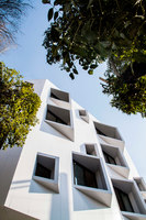 A Beveled Building | Apartment blocks | Ayeneh Office
