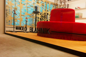 Manolo Blahnik Barcelona | Shop-Interieurs | In Out Studio