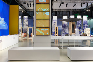 Puglia Crossing Identities | Stands de feria | Migliore+Servetto Architects