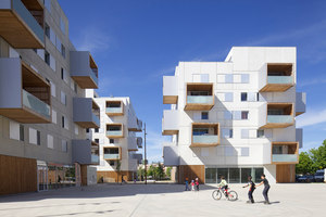 Square Maimat | Mehrfamilienhäuser | PPA architectures