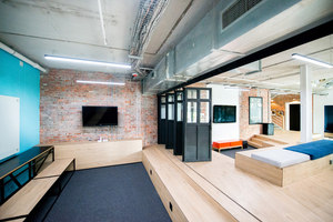 Saatchi & Saatchi's Cape Town base | Office facilities | Inhouse Brand Architects