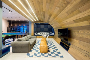 Urban Man Cave | Living space | Inhouse Brand Architects