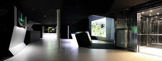 Interactive showroom | Installationen | Indissoluble