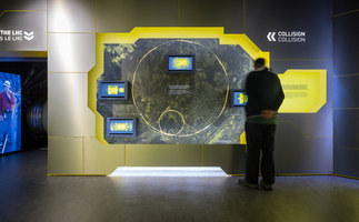 Microcosm exhibition at CERN | Installationen | Indissoluble