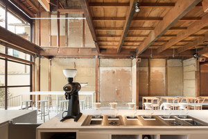 Blue Bottle Coffee Kyoto Cafe | Café interiors | Schemata Architects