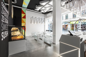 TOKYO TEY Sushi Store | Bar interiors | mode:lina architekci