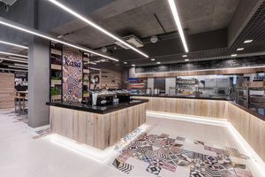 Restaurant in LIDL headquters | Intérieurs de restaurant | mode:lina architekci