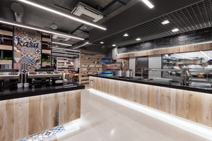 Restaurant in LIDL headquters | Restaurant-Interieurs | mode:lina architekci
