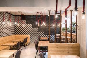 Bistro Rusztowanie | Café interiors | mode:lina architekci