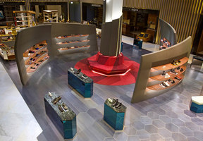 Level Shoe District | Negozi - Interni | Shed Design