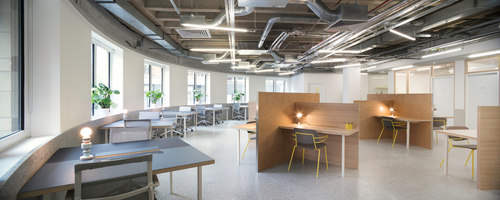 The Office Group - Angel Square | Office facilities | Shed Design