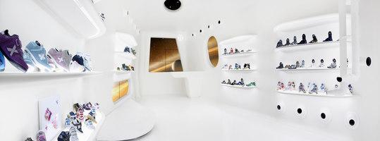 Mini Munich flag ship store La Roca | Shop interiors | Dear Design