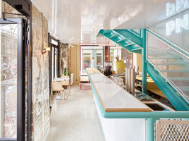 PNY Marais | Restaurant interiors | CUT Architectures