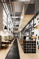 GAGA Cafe at Wongtee Plaza | Diseño de restaurantes | Coordination Asia