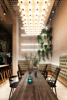 GAGA Cafe at Wongtee Plaza | Restaurant interiors | Coordination Asia