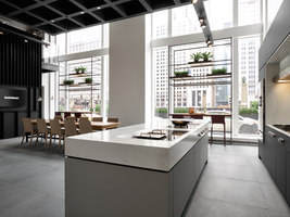 Gaggenau Showroom Chicago | Shop interiors | Einszu33