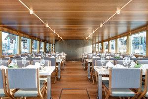MS Säntis | Restaurant interiors | Susanne Fritz Architekten
