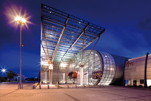 New exhibition hall (Kielce Trade Fairs) | Manufacturer references | Jansen