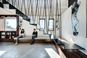 Duplex Penthouse | Living space | Toledano +Architects