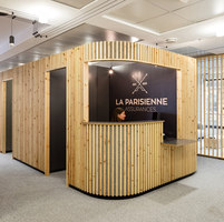 La Parisienne Headquarters | Office facilities | studio razavi architecture