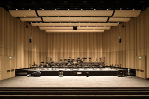 Concert hall Toni Areal | Manufacturer references | Dukta