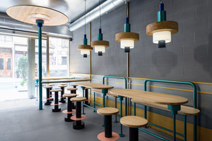 Kento | Restaurant interiors | Masquespacio