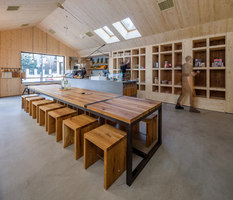 Juice Bar Cabin | Restaurantes | NaNA (Not a Number Architects)